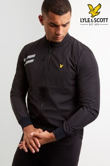 Lyle & Scott Black Ultra Stretch Run Jacket