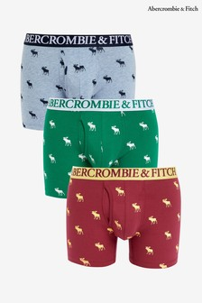 Abercrombie & Fitch Moose Boxers Three Pack