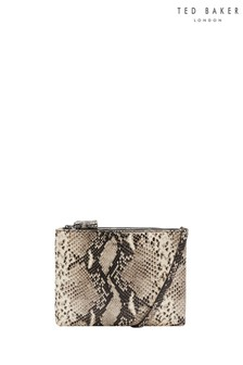 Ted Baker Black Snake Print Body Bag
