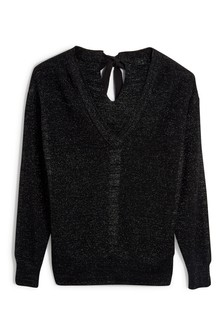 Luxe タイバックセーター