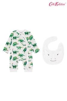 Cath Kidston® Jurassic Schlafanzug und Lätzchen im Set