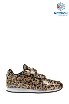 Reebok Leopard Classic Junior And Youth Trainers