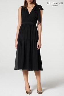 L.K.Bennett Black Abigail Dress