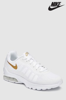 Nike White/Gold Air Max Invigor Youth