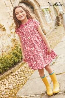 Boden Pink Short Sleeved Jersey Dress