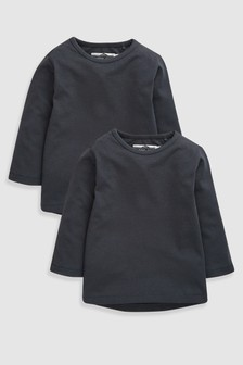 Long Sleeve T-Shirts Two Pack (3mths-7yrs)