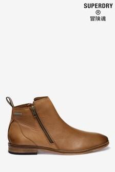 Superdry Tan Trenton Boots