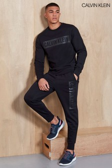 Calvin Klein Performance Black Knitted Pants