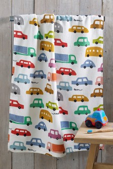 Childrens Car Towels
