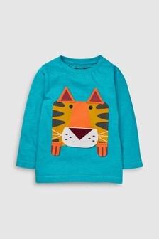 Long Sleeve Tiger T-Shirt (3mths-7yrs)