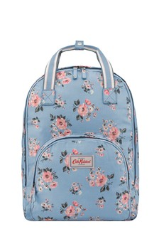Cath Kidston® Blue Grove Bunch Multi Pocket Backpack