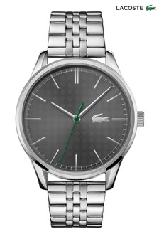 Lacoste Silver Tone Stainless Steel Vienna Watch