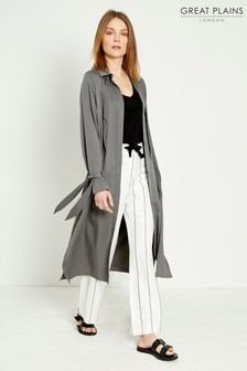 Great Plains Grey Joshua Mac Coat