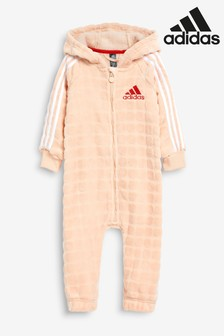 adidas Infant Pink Soft All-In-One