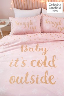 Baby It's Cold Outside Duvet Cover and Pillowcase Set by Catherine Lansfield
