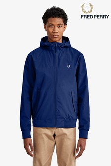 Fred Perry Navy Hooded Brentham Jacket