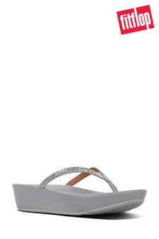 FitFlop Linny™ Toe-Post Sandals In Silver