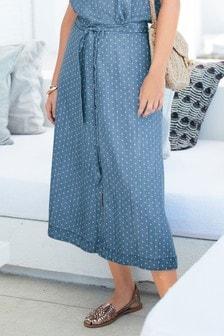 Co-ord Tencel® Midi Skirt