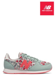 New Balance Turquoise Cath Kidson® Youth Trainer