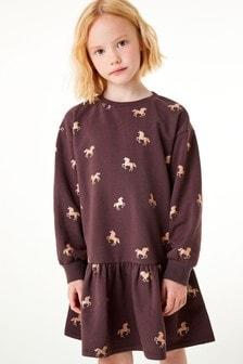Tiered Jumper Dress (3-16yrs)