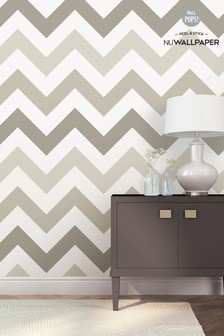 NuWalls Zig Zag Self Adhesive Wallpaper