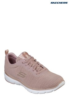 Skechers® Pink Flex Appeal 3.0 Glam Trainer
