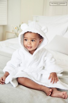 The White Company White Hydrocotton Baby Robe