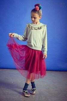 Outside The Lines Pink Longline Tutu Skirt