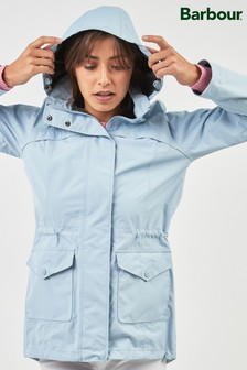 Barbour® Pale Blue Waterproof Lightweight Parka Jacket