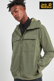 Jack Wolfskin Summer Storm Green Jacket