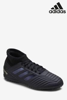adidas Dark Script Black Predator Turf Junior & Youth Football Boots