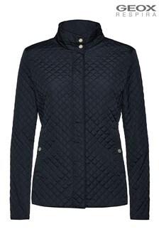 Geox Blue W Arethea Jacket