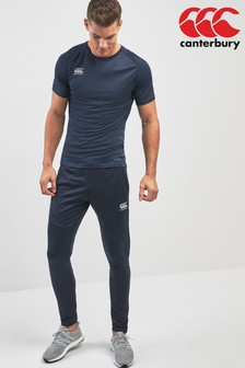 Canterbury Navy Vapodri Poly Knit Trouser