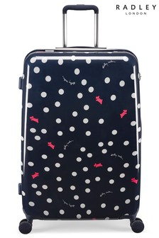 Radley Vintage Dog Dot Suitcase Large