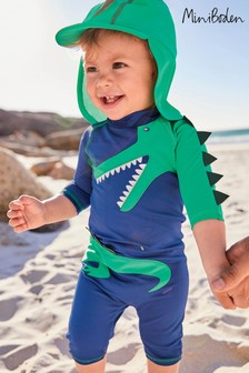 Boden Green Animal Surf Set
