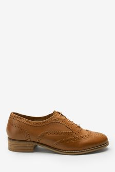 Signature Forever Comfort® Leather Brogues