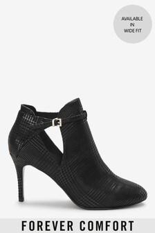 Forever Comfort®側開高跟鞋靴