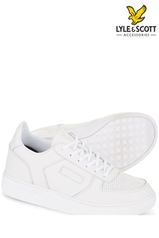 Lyle & Scott White McMahon Trainer