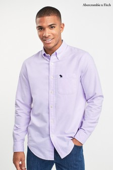 Abercrombie & Fitch Pink Oxford Shirt