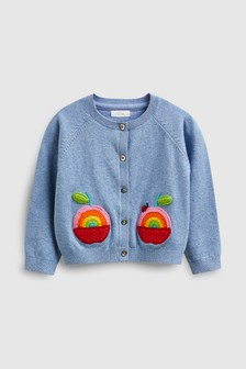 Apple Rainbow Cardigan (3mths-7yrs)