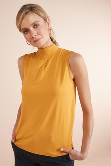 Piped Tie Back Top