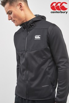 Canterbury Black Thermoreg FZ Hoody
