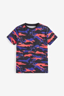 All Over Print Panther Camo T-Shirt (3-16yrs)