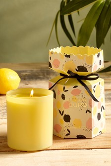 Lemon Curd Candle