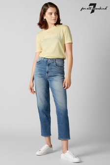 7 For All Mankind® Mid Blue Vintage Mom Fit Jean