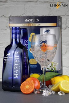 Le Bon Vin Masters Gin Glass Gift Pack