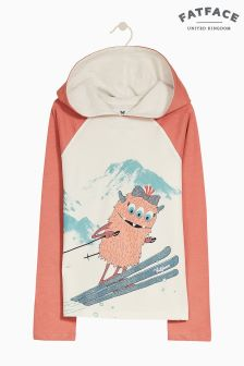 FatFace Natural Flora Monster Ski Graphic Tee
