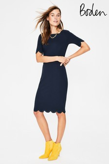 Boden Blue Emma Ponte Dress