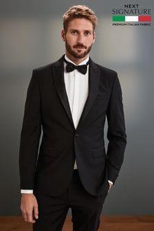 Tollegno Signature Tuxedo Suit: Jacket