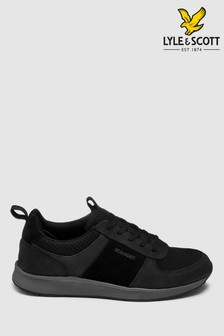 Lyle & Scott Black Irvine Trainer